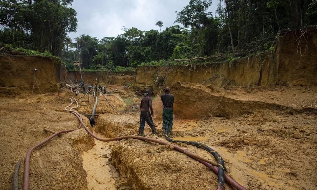 número de inquéritos sobre garimpos ilegais cresce 17%, na amazônia